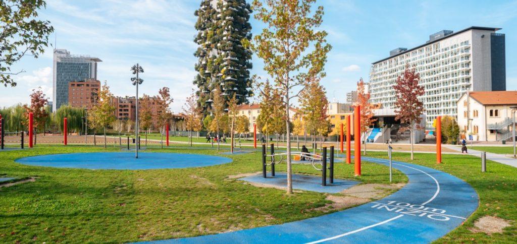 Parco Fitness Proludic – Biblioteca degli alberi Milano